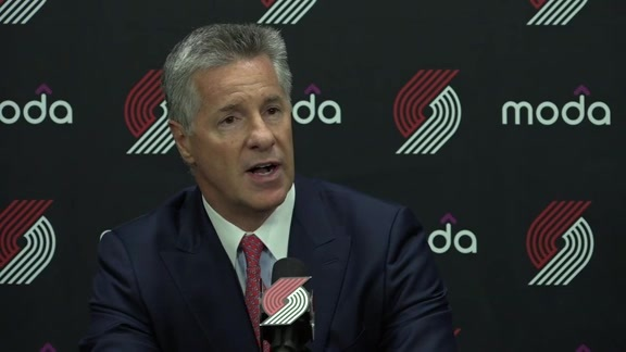Neil Olshey Post-Draft Media Avail