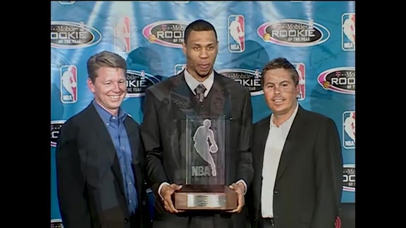 Throwback: Brandon Roy Wins 2007 Rookie of the Year