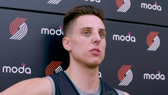 VIDEO » Zach Collins On Returning To Las Vegas For Summer League