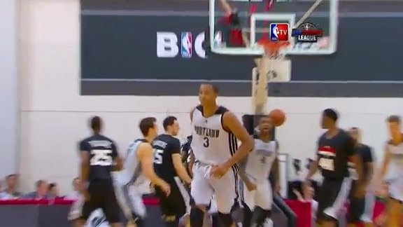 Throwback Thursday- C.J. McCollum is Cold-Blooded