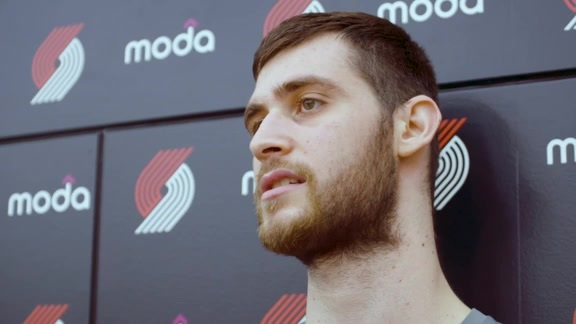 VIDEO » Georgios Papagiannis Talks Summer League, Future In Portland