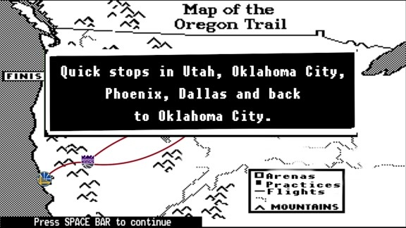Oregon Trail Schedule Release