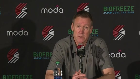 Coach Stotts 2018 Media Day Presser