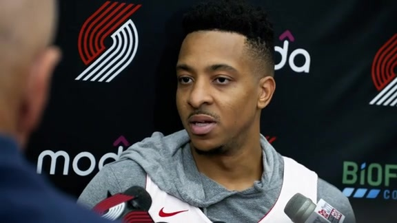 VIDEO » CJ McCollum Talks First Day Of Training Camp