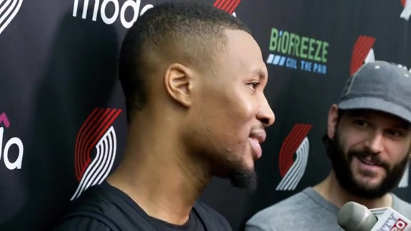 VIDEO » Dame Media Availability Training Camp Day 3