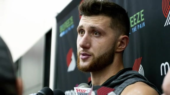 VIDEO » Jusuf Nurkic Talks After Training Camp Day 3
