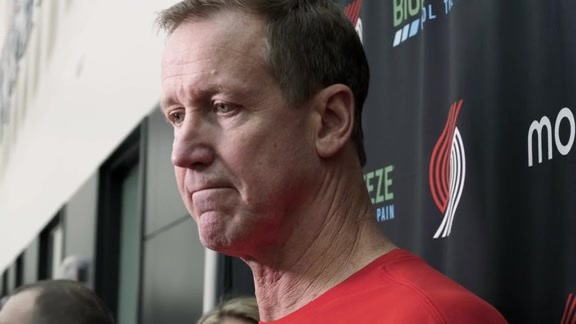 VIDEO » Terry Stotts on Training Camp Day 4