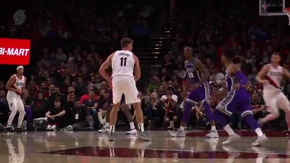HIGHLIGHTS: Trail Blazers 118, Kings 115