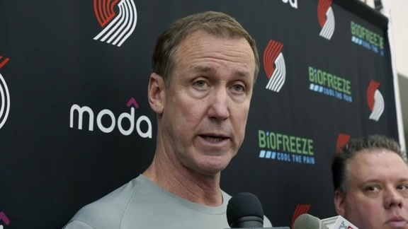 Terry Stotts Comments on Opening Night Matchup vs. L.A.