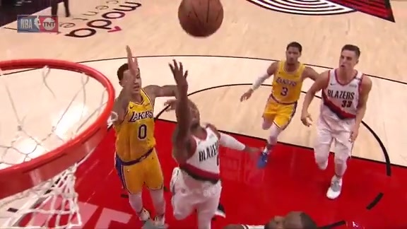 Damian Lillard (28 points) Highlights vs. Los Angeles Lakers