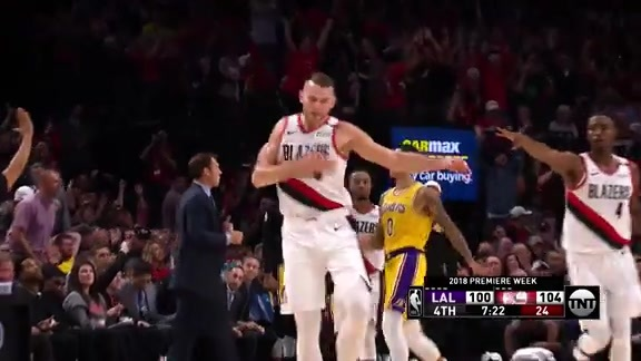 Highlights: Trail Blazers 128, LA Lakers 118