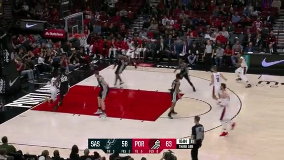 Damian Lillard (29 points) Highlights vs. San Antonio Spurs