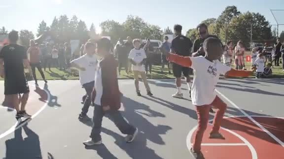 Trail Blazers and Nike Team Up to Revitalize Local Basketball Courts