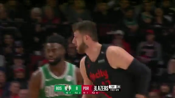 Jusuf Nurkic (18 points, 17 rebounds) vs. Boston Celtics
