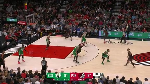 Highlights: Portland 100, Boston 94