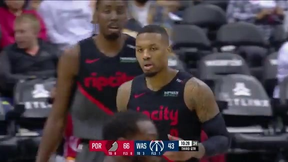 Damian Lillard (40 points) Highlights vs. Washington Wizards