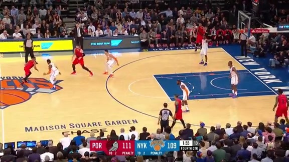 Highlights: Portland 118, New York 114