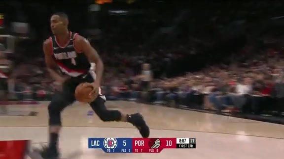 Harkless Gets the Start and the Slam
