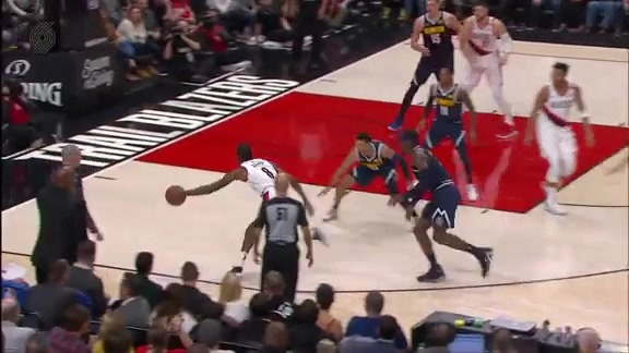 Al-Farouq Aminu (20 points) Highlights vs. Denver Nuggets