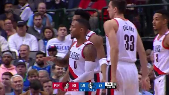 Highlights: Portland 102, Dallas 111