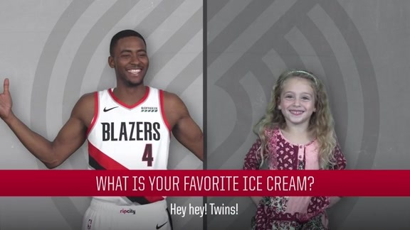 Kids Ask the Blazers: Volume 1