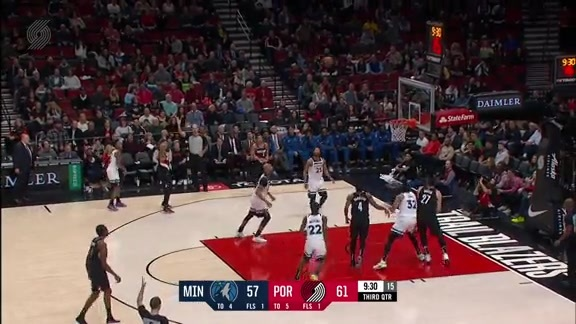 Highlights: Portland 113, Minnesota 105