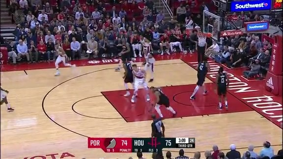 Highlights: Portland 103, Houston 111
