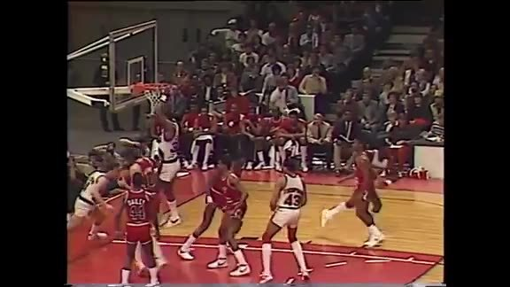 Throwback: Jim Paxson Career High 41 Points vs. Bulls in 1984