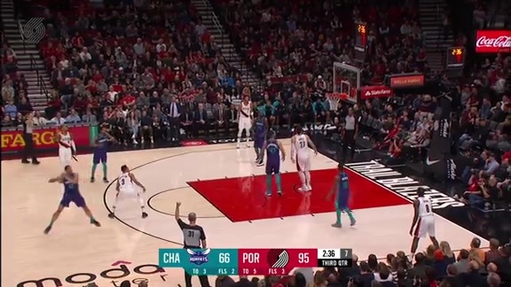 Highlights: Portland 127, Charlotte 96