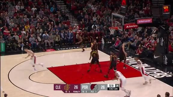 Highlights: Portland 129, Cleveland 112