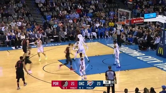 Highlights: Portland 114, Oklahoma City 123