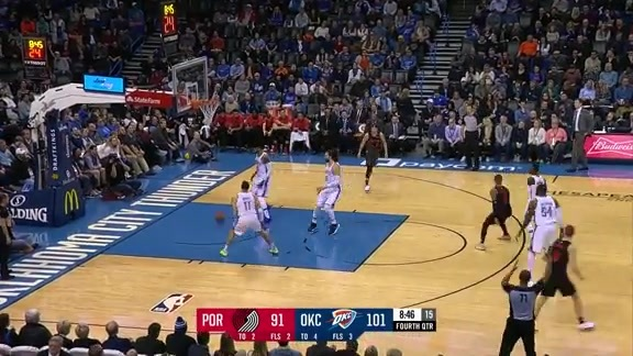Damian Lillard (34 points) Highlights vs. Oklahoma City Thunder