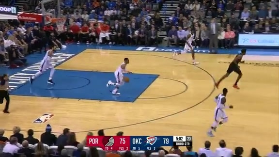 CJ McCollum (31 points) Highlights vs. Oklahoma City Thunder