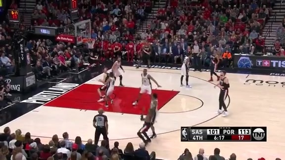 Damian Lillard (24 points) Highlights vs. San Antonio Spurs