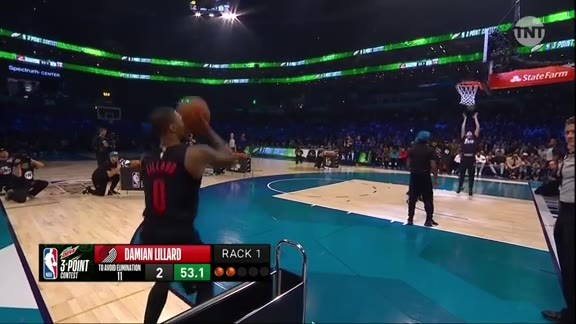 Damian Lillard Three-Point Contest First Round