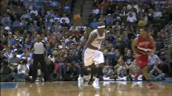 Throwback: Andre Miller's unexpected fast break dunk