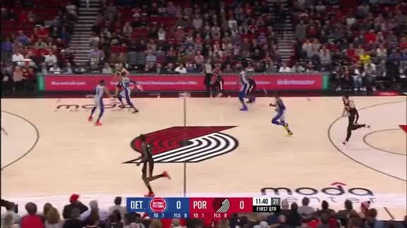 Al-Farouq Aminu (22 points) Highlights vs. Detroit Pistons