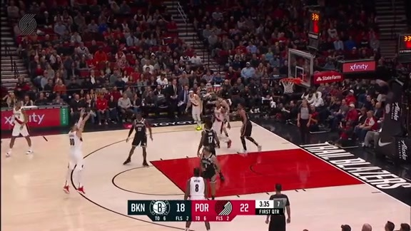 Kanter buries the wide open three