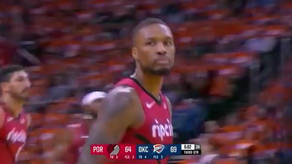 Damian Lillard (32 points) Highlights vs. Oklahoma City Thunder