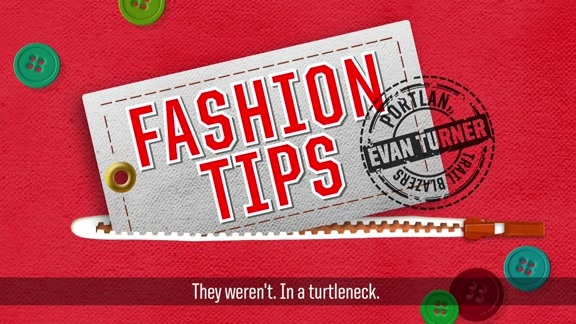 Fashion Tips With Evan Turner