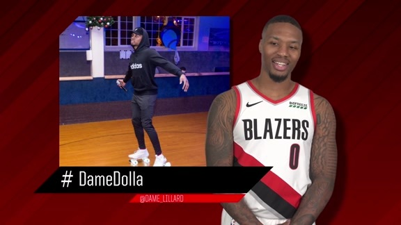 Trail Blazers roast Damian Lillard and CJ McCollum's Instagram photos | #THIS