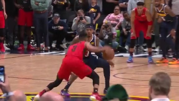 CJ McCollum's jumper ices the game to send Portland to the WCF