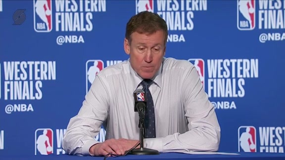 Terry Stotts Postgame Press Conference | Game 2