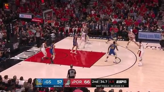 Meyers Leonard (30 points) Highlights vs. Golden State Warriors