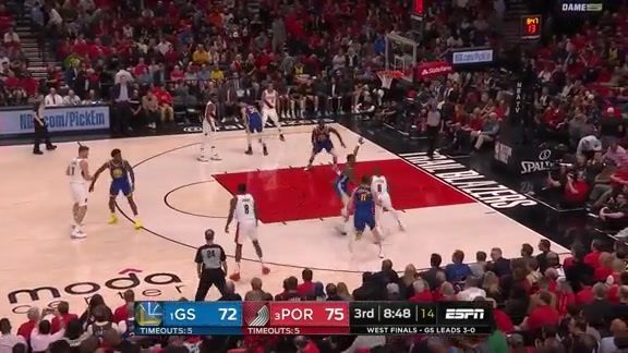 Damian Lillard (28 points) Highlights vs. Golden State Warriors