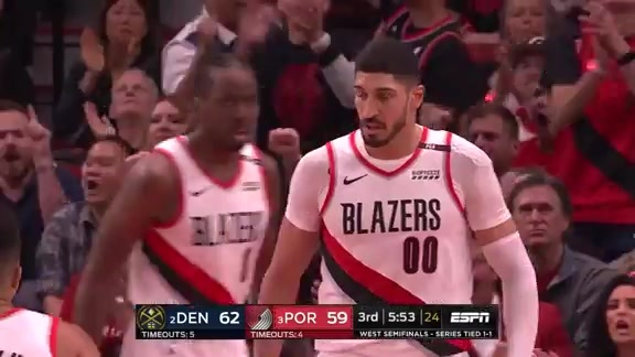 Enes Kanter 2018-19 Season Highlights