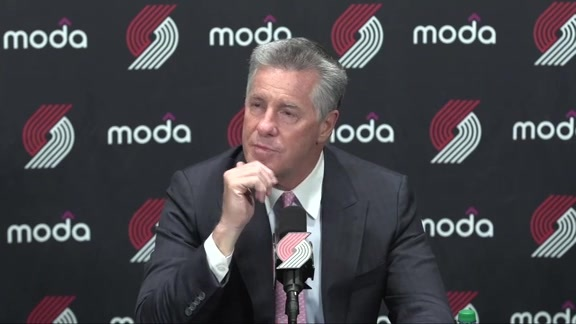 VIDEO » Neil Olshey Talks About Team's First Draft Without Paul Allen