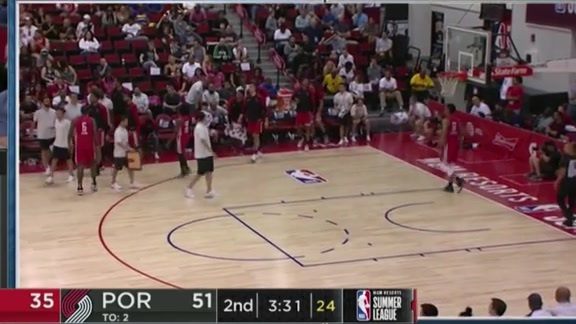 Gary Trent Jr. is on fire from deep
