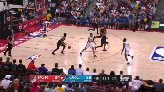 Summer League Highlights: Portland 87, Oklahoma City 92