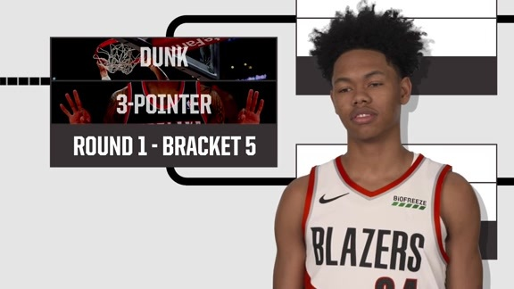 Anfernee Simons does the ultimate bracket challenge